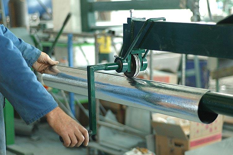 Станок для изготовления водостоков своими руками